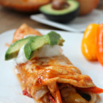 Chicken Fajita Enchiladas 1