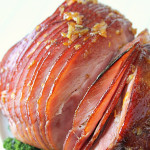 Citrus Glazed Ham on SixSistersStuff
