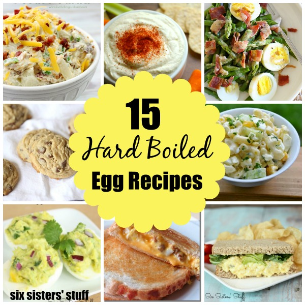 hard boiled egg recipes 15 boil egg recipe ideas six stuff 30252