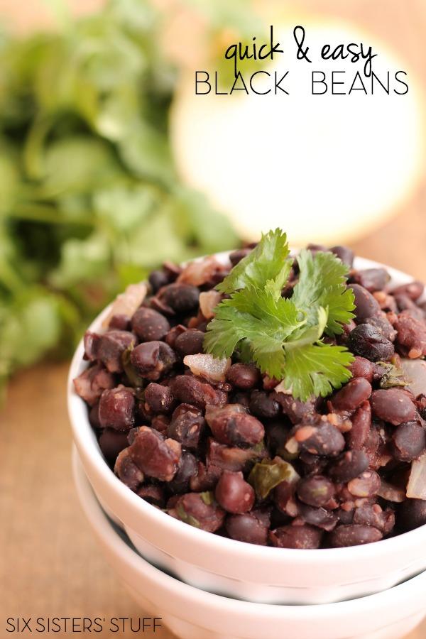 Easy Black Bean Recipe
