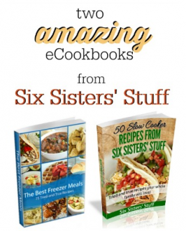 Two NEW eCookbooks from Six Sisters' Stuff