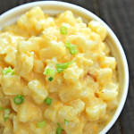 Slow Cooker Cheesy Potatoes on SixSistersStuff