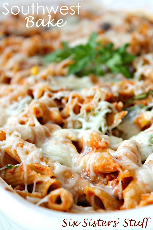 Southwest Pasta Bake Recipe