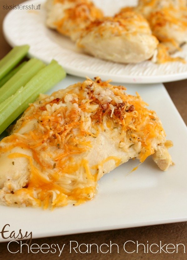 Easy Cheesy Ranch Chicken Recipe
