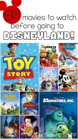 20 Movies to Watch Before Going to Disneyland!