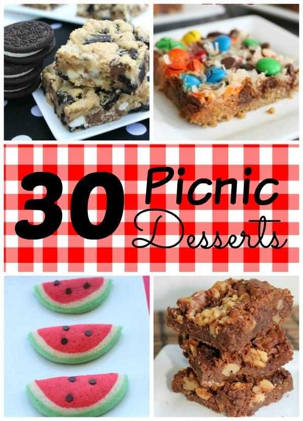 30 Picnic Desserts