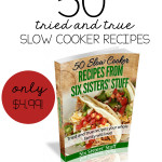 50 Slow Cooker Recipes eCookbook from SixSistersStuff.com.  50 of the BEST slow cooker recipes your family will love!