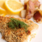 Parmesan Crusted Salmon from Six Sisters' Stuff