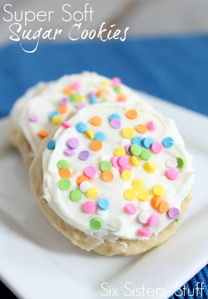 Super Soft Sugar Cookies Six Sisters Stuff