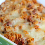 Zesty Pizza Casserole from SixSistersStuff.com