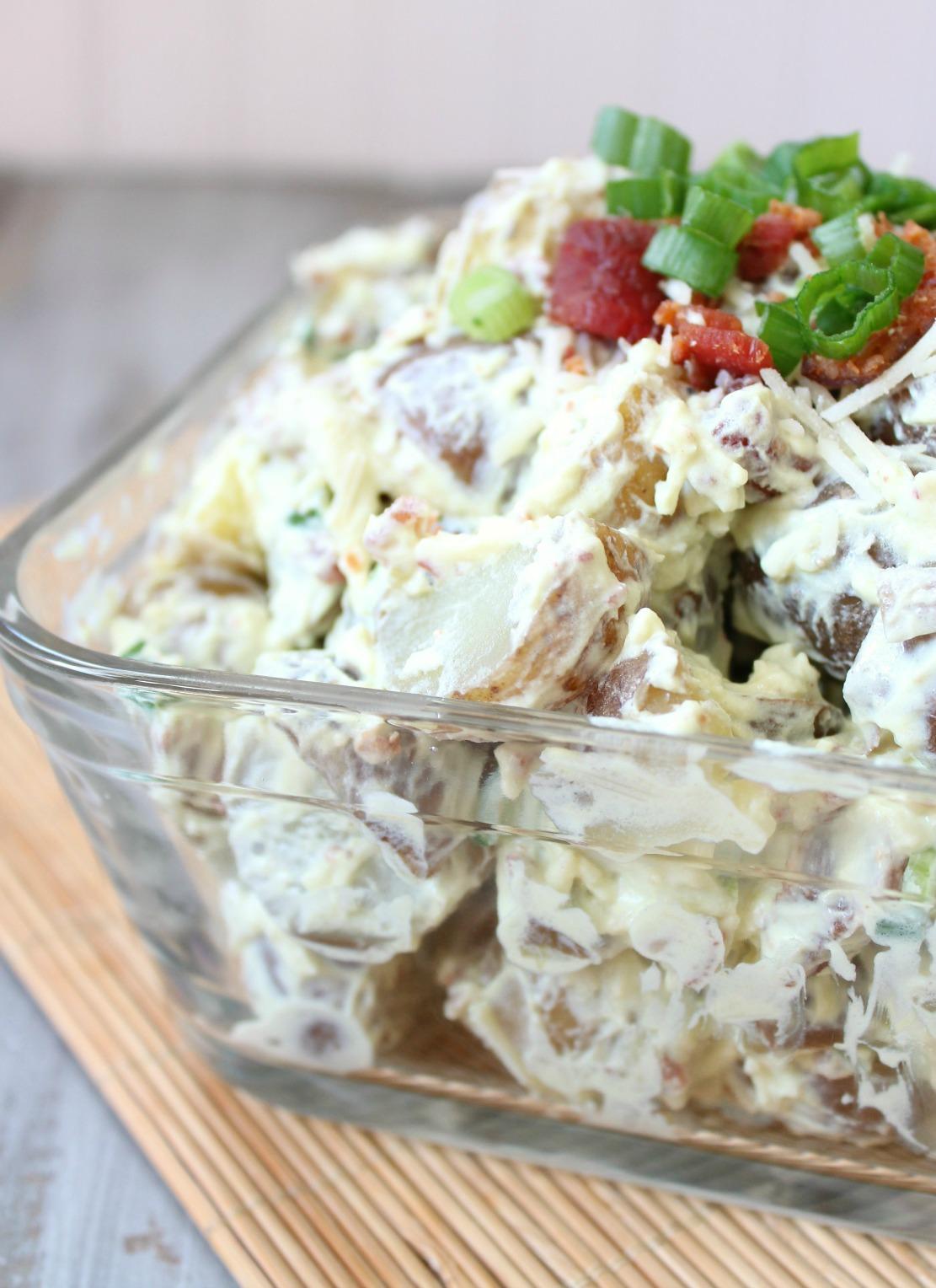 Guacamole and Bacon Potato Salad Recipe