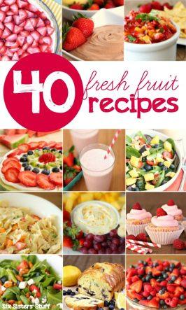 40 Fresh Fruit Recipes