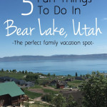 5 Fun Things To Do In Bear Lake, UT on SixSistersStuff.com