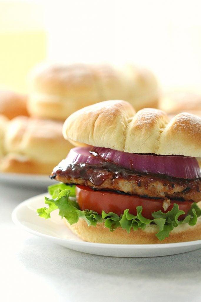 Bbq Turkey Burgers Recipe