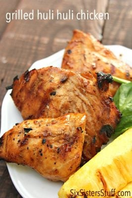 Grilled Huli Huli Chicken on SixSistersStuff.com