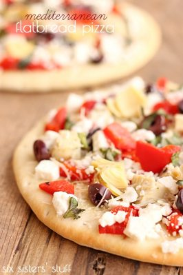 Mediterranean Flatbread Pizza