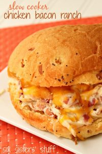 Slow Cooker Chicken Bacon Ranch