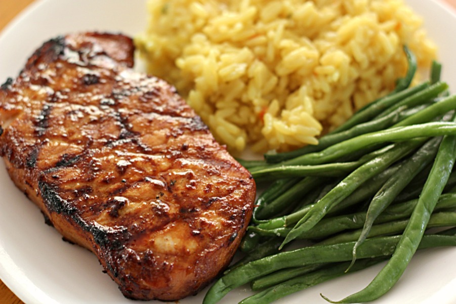 how to make pork chop marinade for grilling