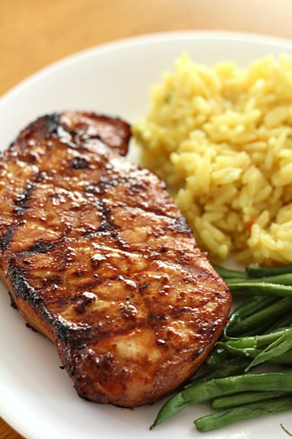 The Best Pork Chop Marinade Recipe {for Grilling}