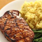 The Best Pork Chop Marinade on SixSistersStuff.com