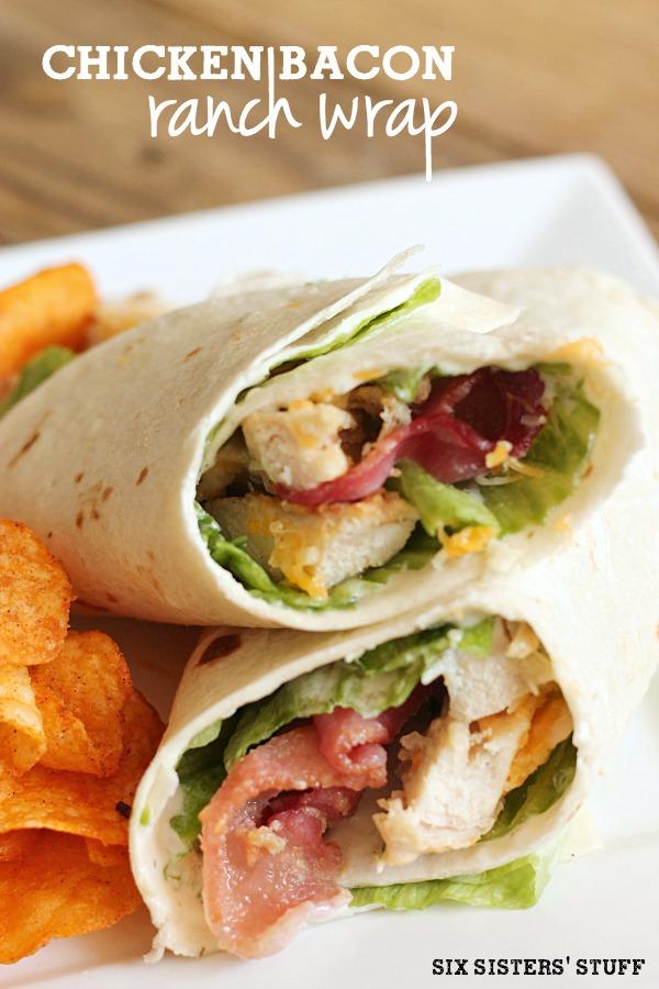 Chicken Bacon Ranch Wrap Recipe