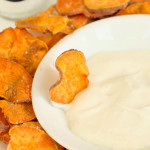 sea salt and vinegar sweet potato chips