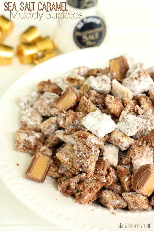 Sea Salt Caramel Muddy Buddies Recipe