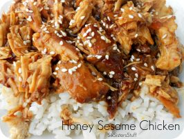 Slow Cooker Honey Sesame Chicken Recipe