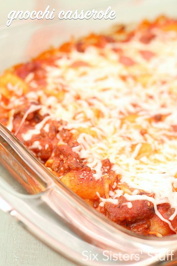 Easy Gnocchi Casserole Recipe