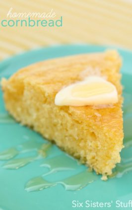 homemade cornbread recipe that is the best ever!