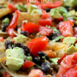 Loaded Baked Nachos 3