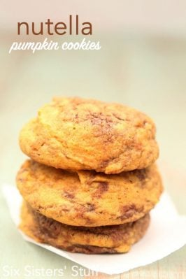 Nutella Pumpkin Cookies Recipe