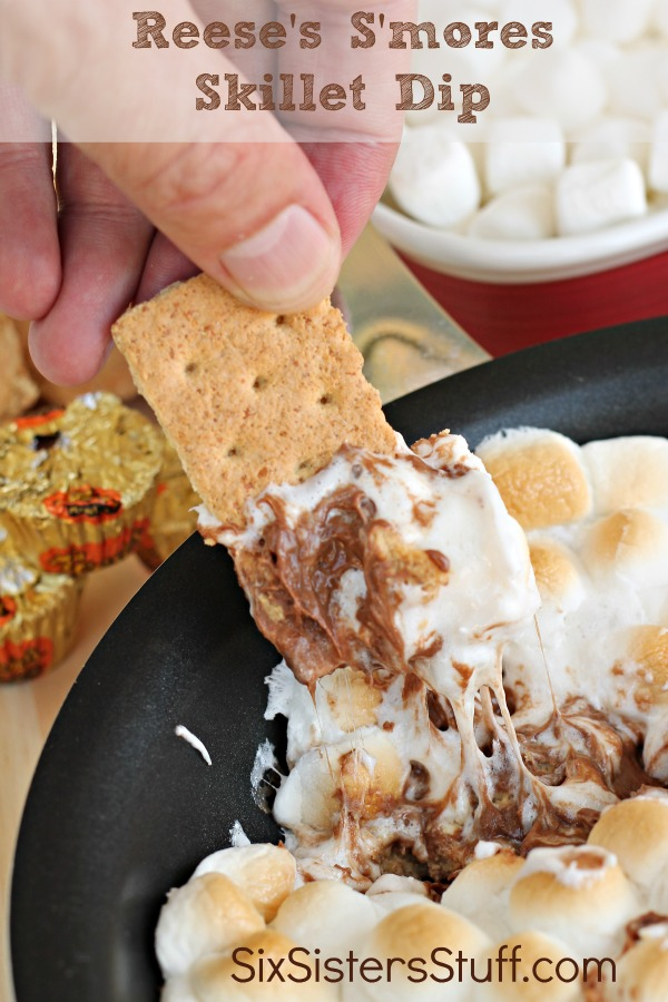 Reese's S'mores Skillet Dip 3