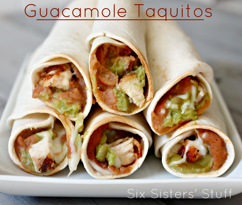 guacamole taquitos 4