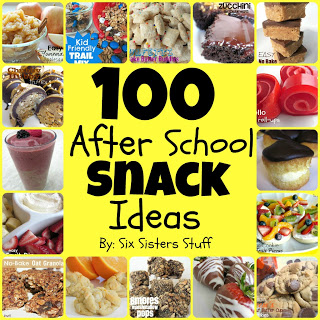 100 Easy After School Snacks