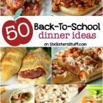 50 Back to School Dinner Ideas