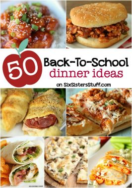 "Quick and Easy ""Back to School"" Dinners"