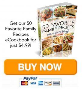 50 Favorite Family Recipes Button