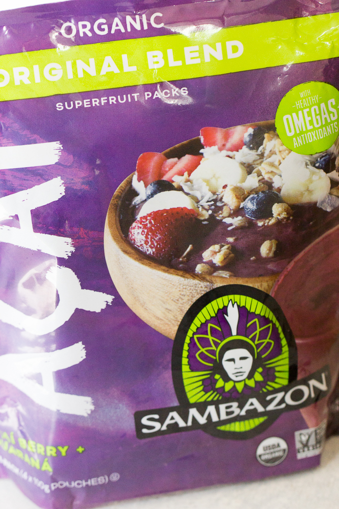 Acai smoothie mix