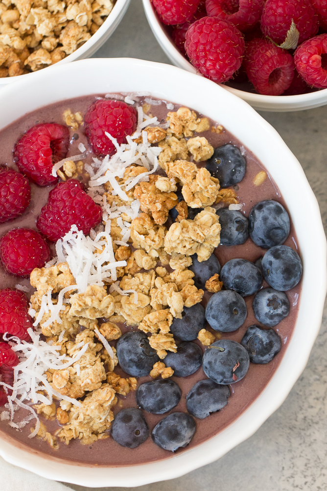 Acai Smoothie Bowl Recipe