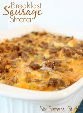 Breakfast Sausage Strata Recipe