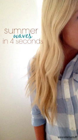 How To Make Beachy Curls with a Curling Iron