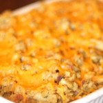 Chicken and Broccoli Casserole from SixSistersStuff.com