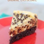 Chocolate Chip Brownie Cheesecake Recipe
