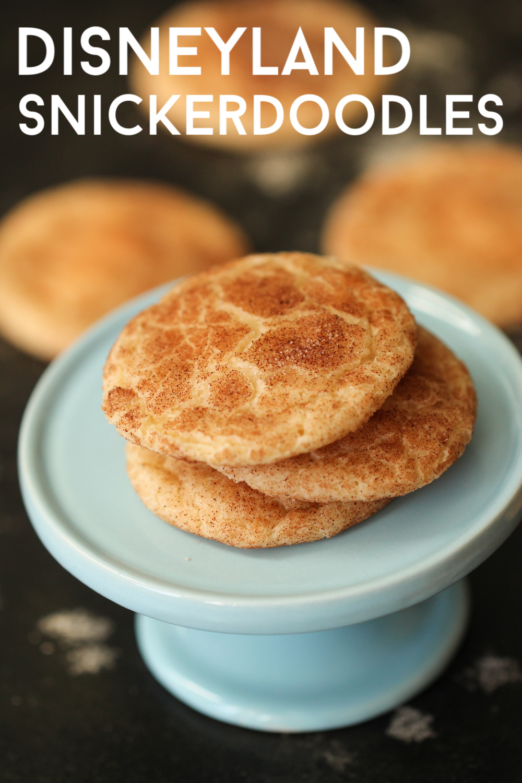Disneyland Snickerdoodle Cookies