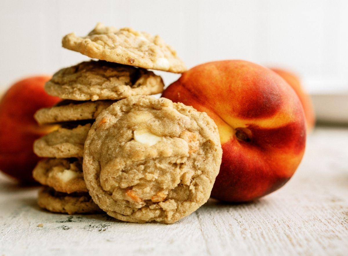 Peaches and Cream Oatmeal Cookies Recipe