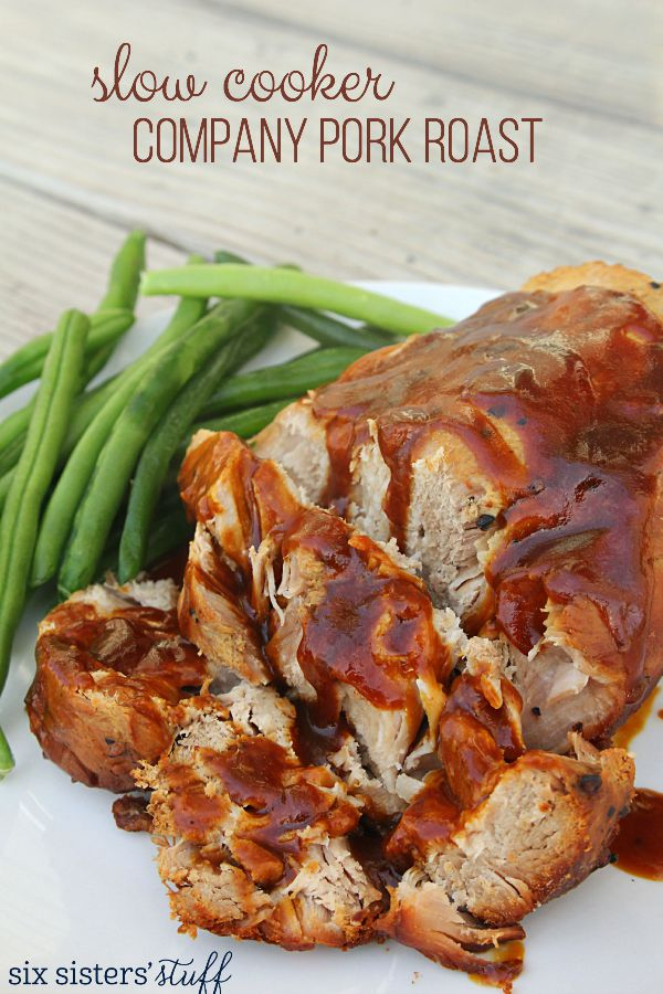 Slow Cooker Company Pork Roast Recipe