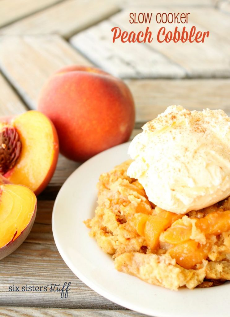 Peach Cobbler With Yellow Cake Mix And Frozen Peaches
