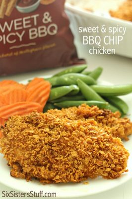 Sweet and Spicy BBQ Chip Chicken