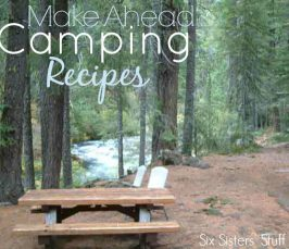 Make Ahead Camping Recipes
